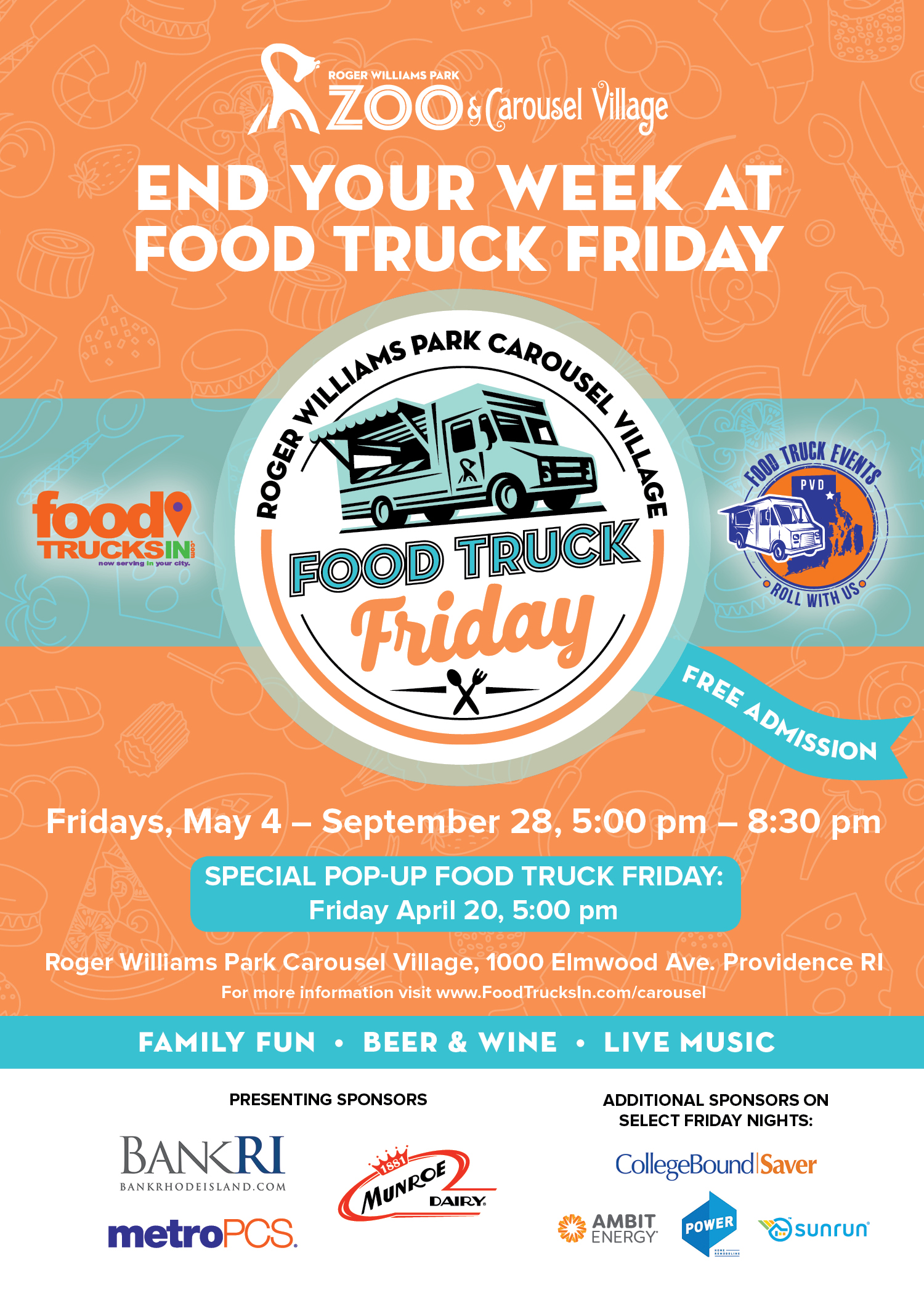 Food Truck Friday In Providence Rhode Island