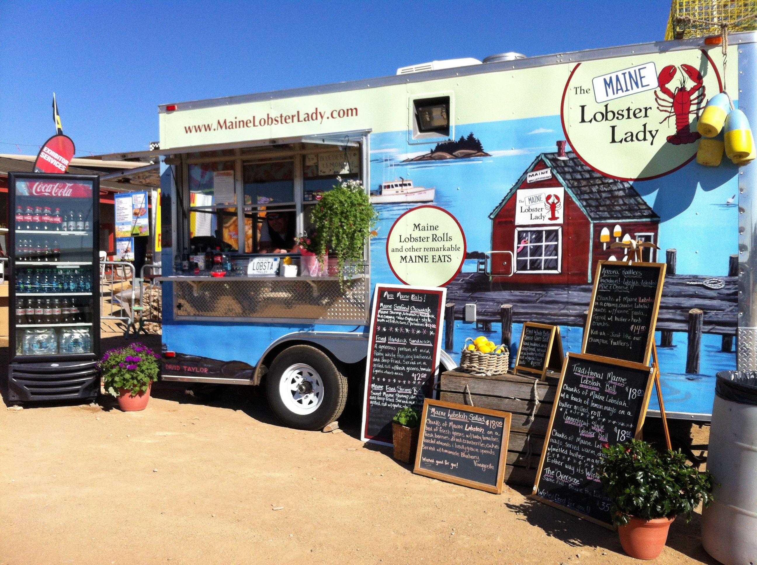 Trucks For Sale In Phoenix >> The Maine Lobster Lady | Food Trucks In Phoenix AZ