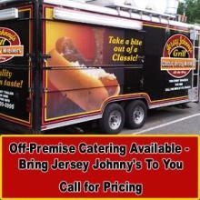 Jersey Johnny S Grill Food Truck Menu