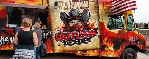 The Outlaw Grill Food Truck Veteran Owned & Operated