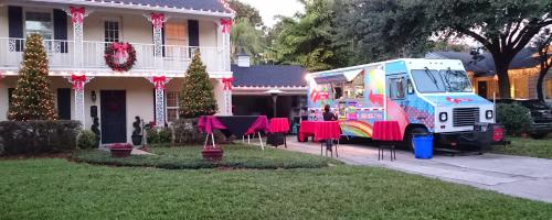 We do private event party at your home.