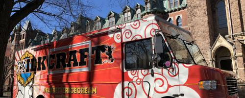 The Milkcraft® Truck at Yale New Haven