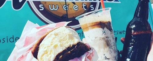 Ice Cream Sandwiches and Floats