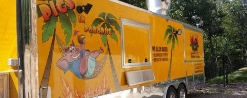 Pigs In Paradise Food Truck
