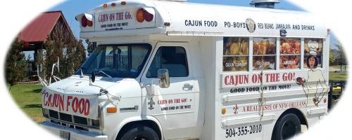 Book Our Cajun Food Truck for Catering