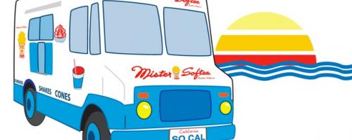 Mister Softee in SoCal....it's about time!