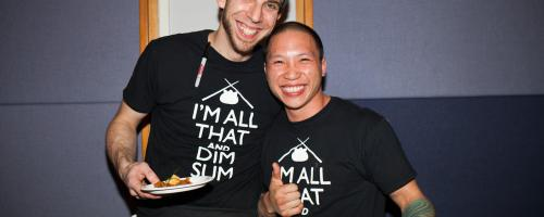 Chef Phil Mannery and CEO Peter Tong