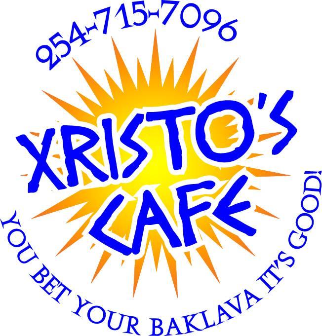 Xristos Cafe Menu